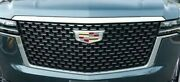 Gm Oem Cadillac Escalade 2021+ Silver Front Grille Generation 5 Brand New
