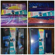 Trapper Keeper Binder Retro 80and039sstyle Portfolio Folder Lot Of 4 Different Mead