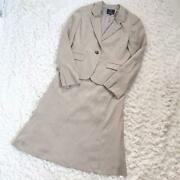 Only Kashiyama Suede Skirt Suit Top And Bottom 40