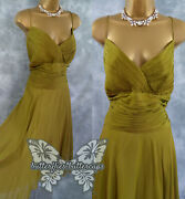 Monsoon Size 18 Beautiful Silk Grecian Dress Suit Mother Of The Bride Outfit