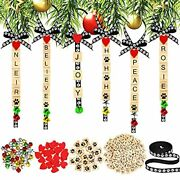 300 Pieces Personalized Christmas Pet Ornaments Tree Decorations Diy Dog Paw ...