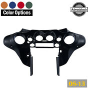 Color-matched Inner Batwing Fairing For 08-13 Harley Touring Street Glide Flhx