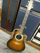 Ovation 1667 296542 Acoustic Electric Guitar W/gig Case Safe Delivery From Japan