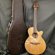 Takamine Npt110bn Classical Electric Guitar W/hard Case Safe Delivery From Japan