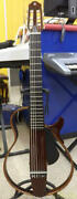 Yamaha Slg200nw Classical Electric Guitar With Gig Bag Safe Shipping From Japan