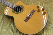Aria The Sandpiper Classical Electric Guitar W/soft Case Ships Safely From Japan