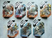 Various Star Wars 30th Anniversary Action Figures Moc