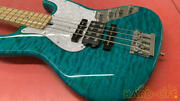 Combat Custom Jb Electric Bass With Hard Case Perfect Packing From Japan