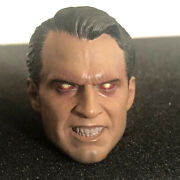 Superman Head Sculpt Laser - 1/6 Scale -for Hot Toys Or Phicen Body Us Seller
