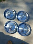 70 71 72 Plymouth Hub Caps 14 Set Of 4 Wheel Covers Hubcaps 1970 1971 1972