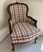 Bergere Occasional Chair Pair French 2 Set Fireside Cream Mult Century Furniture