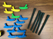 Vtg Mini Golf Rubber Head Replacements And Grip Rite Grips Golf Putters Children