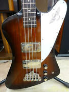 Orville Thunderbird J707063 Electric Bass With Soft Case Ships Safely From Japan
