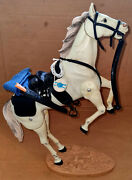 Vintage Marx/gabriel Lone Ranger Silver Action Figure/horse 100 Compl.and Upgrade