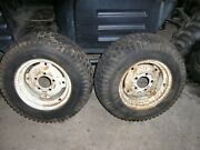 Simplicity Allis Chalmers Rear Wheels And Tires 23 X 8.50-12  7016 Tractor
