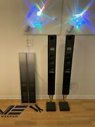 Bang And Olufsen Beolab 8000 Speakers Good Condit. W/ Gray Or Black Grills