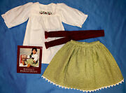 Rare American Girl Josefina Harvest Outfit With Camisa Sash Skirt Pamphlet