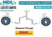 Examination Operation Theater Dual Ot Operating Ceiling Light High Quality Led