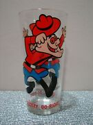 Vintage 70's Dudley Do-right Drinking Glass P.a.t. Ward Productions