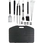 New Mr Bar B Q 94069y Barbecue Tool Set Barbeque 20 Pc