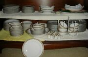 Meito China - 118 Pieces - Antique - 12 Place Settings Items Missing - See List