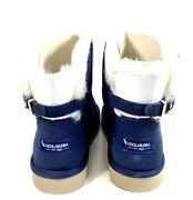 Koolaburra By Ugg Womens Remely Mini Buckle Boots Blue Suede Size 8 New Uggs❤️