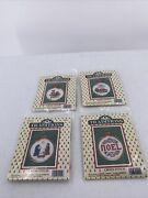 4 Vintage Traditions Cross Stitch Kits Mouse 3 Kings Nativity Noel With Frames