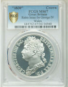 1830-dated Great Britain George Iv Tin Ina Retro Fantasy Wales Crown Ms67