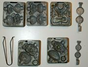 Mattel Thingmaker Creeple People Molds For Use With Goop