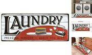 Lacomfy Laundry Room Rugs Mats For Laundry Room Nonslip Floor 20x48 White-red