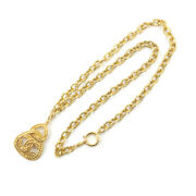 Coco Mark Long Necklace Triangle G 28