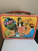 Vintage Happy Days. The Fonz Metal Lunchbox. 1976 Paramount Pictures.