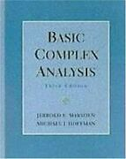 Basic Complex Analysis By Jerrold E. Marsden And Michael J. Hoffman - Hardcover Vg