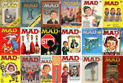 35 Mad Magazine Issues 25 To 66 1,696 Pages Library Bound Excellent Cond