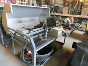 Ge Video Remote Motorized Pipe Inspection Station W/cart Umbilical Cord Pipe Pig
