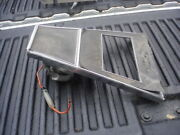 1964 64 Buick Riviera Front Upper Console Heater Ash Tray Bezel 1364015 Gm Oem