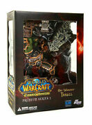 World Of Warcraft Premium Series 2 Orc Warchief Thrall Action Figure