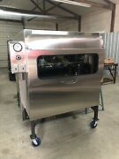 Semo Smokers 48andrdquox48andrdquo Insulated Rotisserie Look And Cook W/ This New Glass Door
