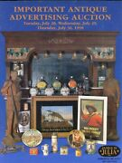 Collectible Antique Advertising Items Clocks Tins Signs - Pharmacy Beer / Book