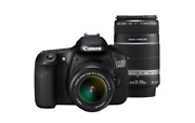 Canon Eos60d-wkit Digital Slr Camera Eos 60d Double Zoom Iso12800 From Japan