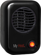 Compact Electric Mini Heater Portable Under Desk Office Home Metal Ceramic Small