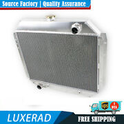 For Ford 1966-1979 67 71 75 78 F100 F150 F250 F350 Bronco Truck 3 Row Radiator