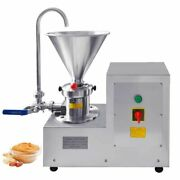 Colloid Milling Machine Peanut Butter Grinder W/ Stainless Steel 30-500kg/h