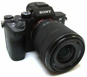 Sony Alpha A7 Iii 3 Mirrorless Camera With Lens