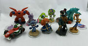 Disney Infinity Character Figure Lot Of 11 Wii And Wii U Xbox 360 And Ps3