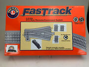 O Scale Lionel 6-81954 Fastrack O72 Wye Remote/command Switch Brand New Ic263