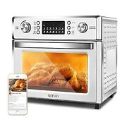 Air Fryer Toaster Oven Combo,qefuo 27.5qt Large Countertop Convection Oven Easy