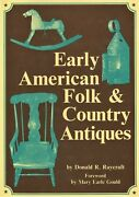 American Rural Folk Country Antiques 18th-19th Century / Scarce Book