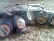 Lot Of 103 Vintage 1972 Nixon Now Pin /button Pin-back Campaign Best Buy Look