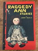 Johnny Gruelle / Raggedy Ann Stories Signed 1st Edition 1918